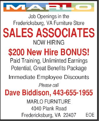 Job Details Sales Associates At Marlo Furniture
